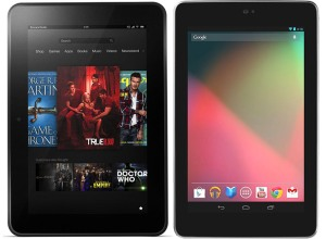 Nexus 7 vs. Kindle Fire HD 7″