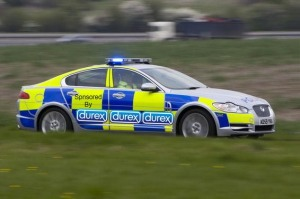 Corporate-Sponsored Police Cars