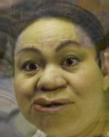Janet Lim Napoles. as Shrek.