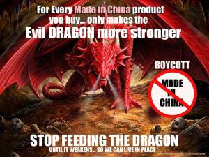 Anti-Made in China campaigns online