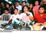 Bong Revilla and family. Image from the Philippine Star