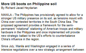 More US boots on Philippine soil
