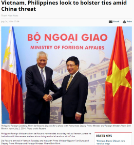 Vietnam, Philippines look to bolster ties amid China threat Thanh Nien News