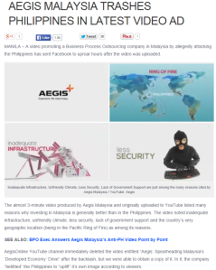 On my balikbayan box problems, airport hassles and more : Aegist trashing the Philippines. The truth hurts, doesn't it?