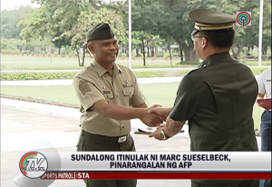 OA is for Overacting : OA Case #3 :  AFP and Technical Sergeant Mariano Pamittan's award