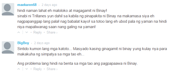 OA is for Overacting : OA Case #4 : The netizens on Trillanes' asal-mahirap quote