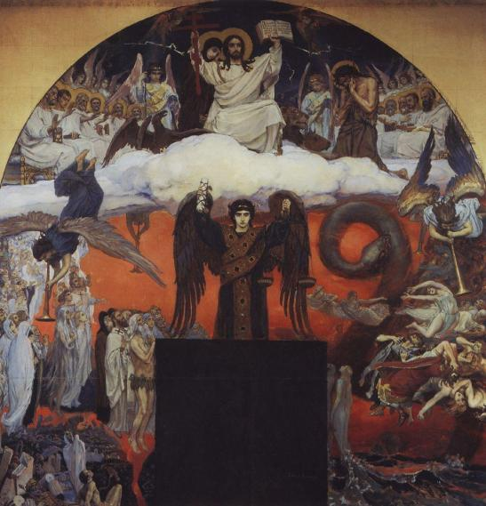 Falling into the trap of dichotomies : The Last Judgement by Viktor Vasnetsov