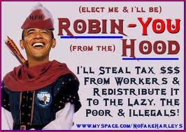 What does it meant to be fair? Obama as Robin-you from the Hood.
