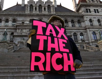 What does it meant to be fair? Tax the rich!