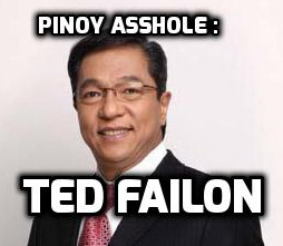 Assholes : A theory by Aaron James. Pinoy Asshole : Ted Failon.