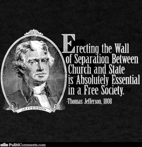 Elections 2016 : Things to remember. Separation of church and state.